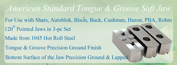american tongue groove soft jaw