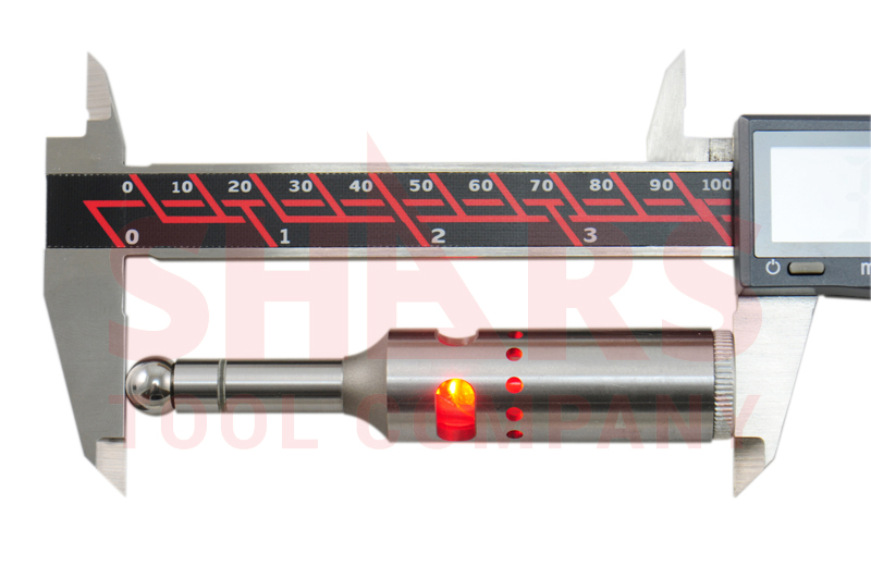 20mm Electronic Digital Edge Finder with LED and Beep Milling R8 Collet New
