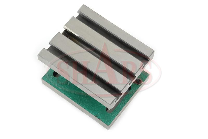 Adjustable Angle Plate : Swivel adjustable angle plate t slot hardened