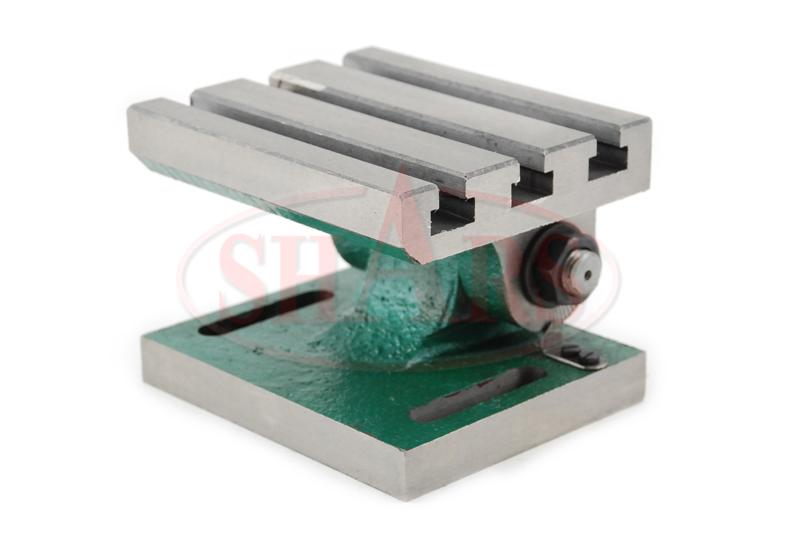 Adjustable Angle Plate : Swivel adjustable angle plate t slot hardened ebay
