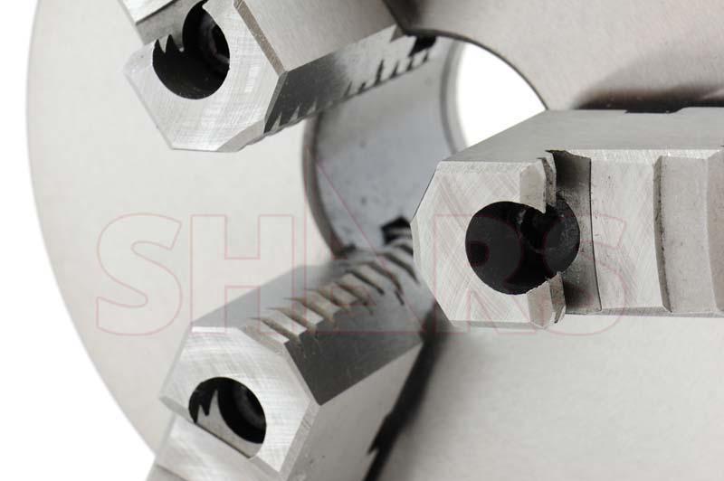 SHARS 8 3 JAW SELF CENTERING SCROLL LATHE CHUCKS D1-4 2 PIECE JAWS 202-5439 R