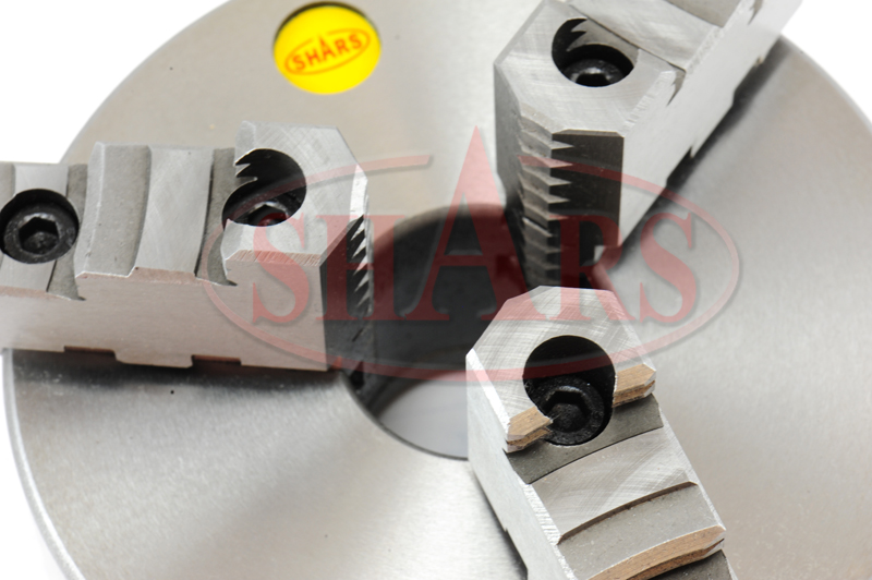 SHARS 6 Inch 3 Jaw Self Centering Scroll Lathe Chucks 2 Piece Jaws with 1-1//2-8 in Fully Machined Threaded Back Plate 202-5433-202-6109