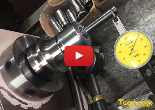 Tegara 1//8 in Ultra Precision 5 Micron ER20 Collet 202-6760