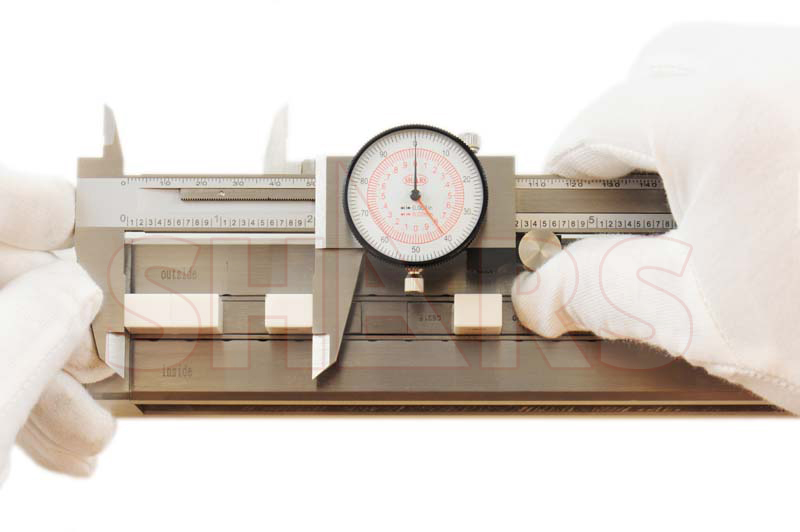 """Shars 6/"""" 150mm Inch Metric Dual Reading Dial Caliper Mm Inspection Report a for sale online"""