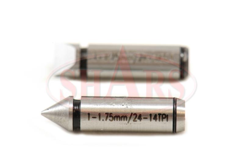 shars 3 4 screw thread carbide micrometer multi anvils 0001 new ebay. Black Bedroom Furniture Sets. Home Design Ideas