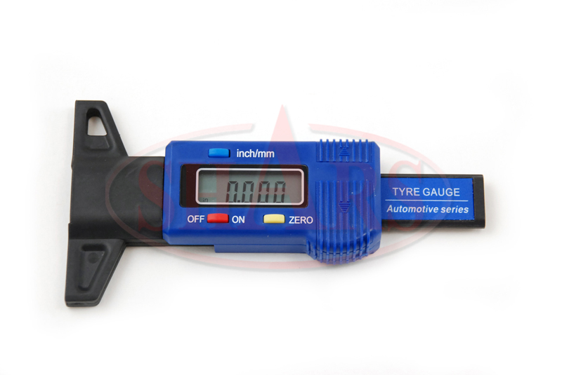 """Shars 0-1/""""//25mm Electronic Digital Thickness Gage Resolution .0005/""""//.01mm New"""