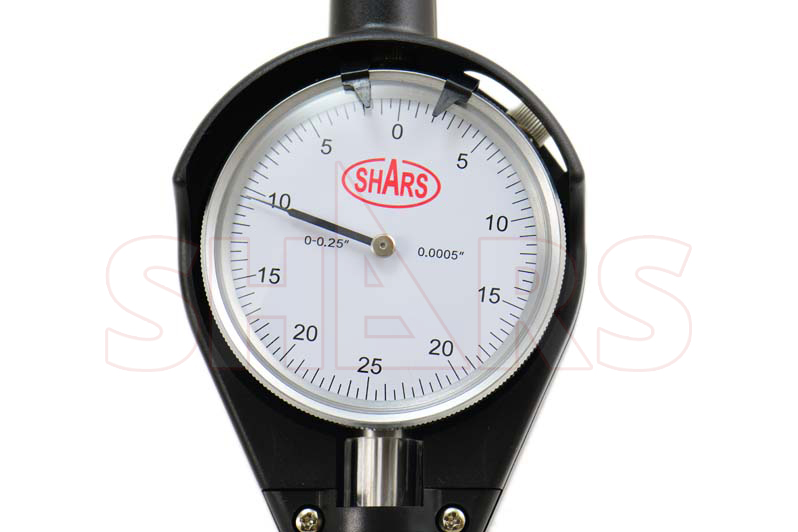 "Shars 1.4-6/"" Dial Bore Gauge GAGE .0005/"" Engine Cylinder Measuring Hole New"