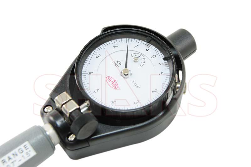 "Shars 0.7-1.5/"" Dial Bore Gauge GAGE .0001/"" Engine Cylinder Measuring Hole New"