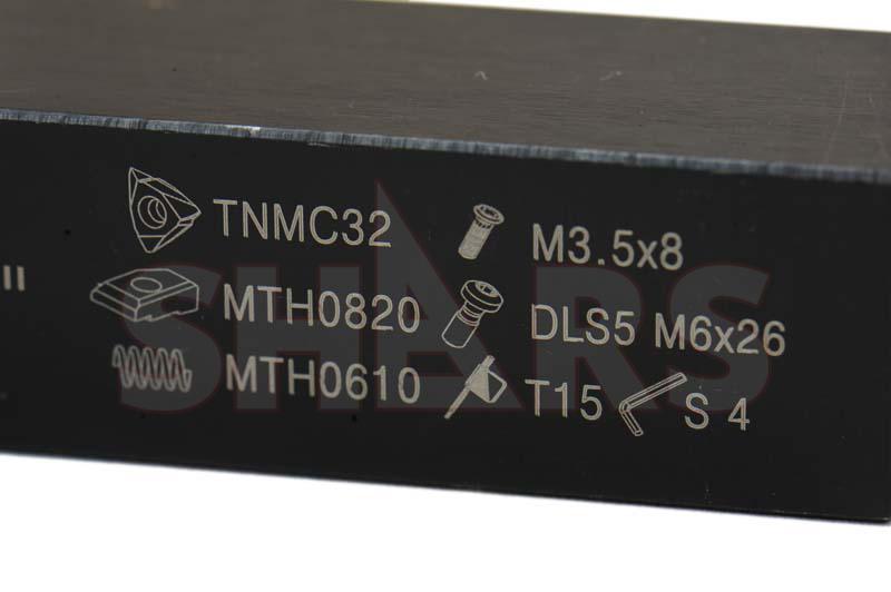 SHARS 1//2 LH MTVO Tri-Lock Tool Holder Use TNMC-NV TNMC-NG TPMC-NV 32 Insert  P