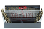 """1/16-1/2"""" by 64ths 115pc Cobalt Jobber Drill Set"""