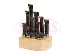 58quot_C6_Carbide_Tipped_Boring_Bar_Set