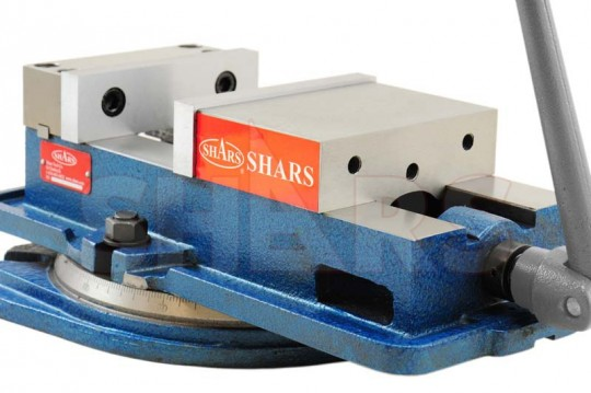 "SHARS 6 X 5-1//2/"" Lock Down Precision Milling Machine Vise NO BASE Vise New"
