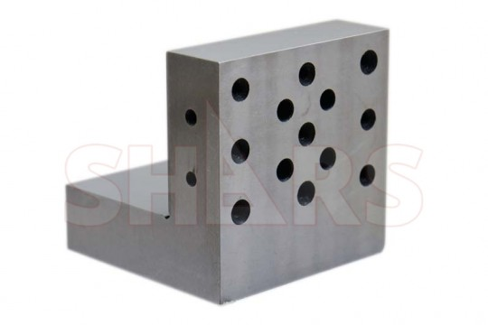 "SHARS Angle Plate 4x4x4x1-1//4/"" Precision Steel Ground"