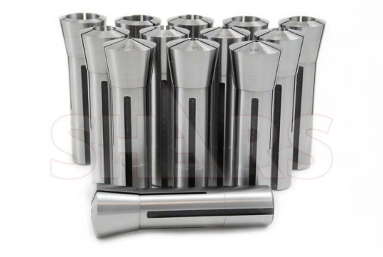 """SHARS PRECISION R8 ROUND COLLET 1//2/"""" .0005/"""" NEW"""