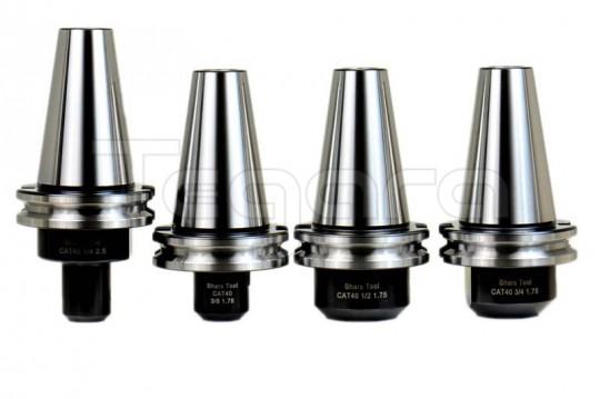 "CAT40 1//2 x 1.75/"" End Mill Tool Holder CAT40 45° 5//8-11 Pull Stud Retention"