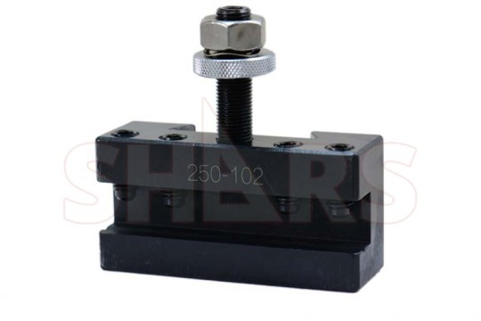250-101 Up to 12/'/' Quick Change Tool Post Turning /& Facing Lathe Tool Holder