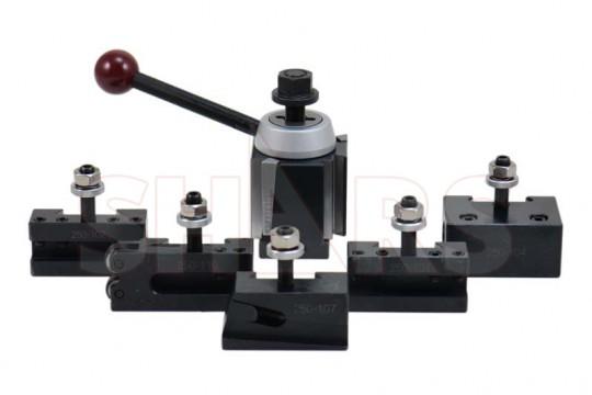 AXA Size Wedge Type Tool Post 250-111 Up to 12 Swing Lathe CNC Quick Change