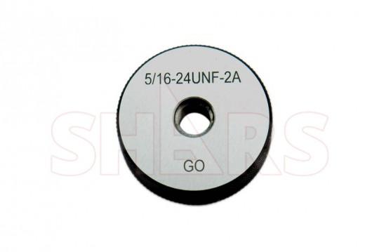 Shars 5//16-24 Unf Go No-Go Thread Ring Gage 2Pcs Set New
