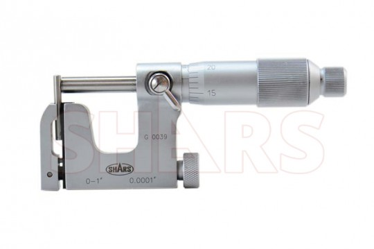 "Multi-Anvil Micrometer 0-1/"" Graduation 0.0001/"" Carbide Tip"