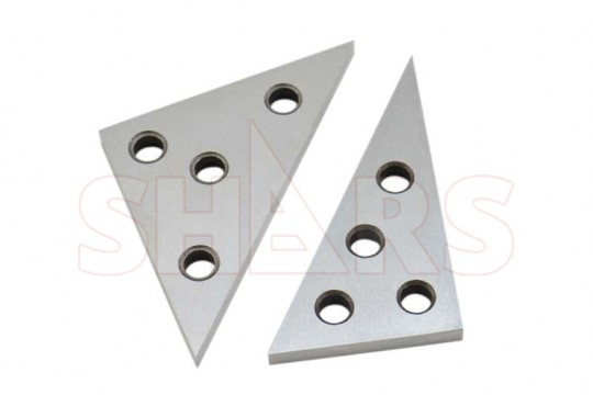 2pc Precision Angle Block 45°//45°//90° 30°//60°//90° Measurements Angle Plate Ruler