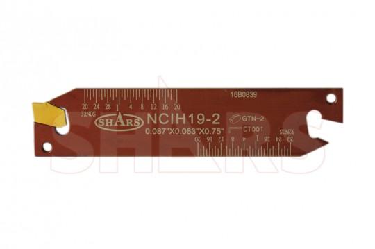 Self Locking Cut-Off Inserts GTN-2 C-2 Grade 5 Pcs.
