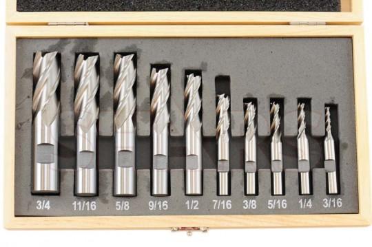SHARS 7//8 X 3//4 HSS 4 Flute Single END Mill 404-6045 1