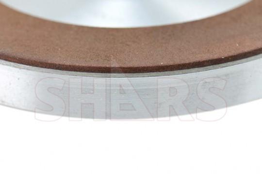 "SHARS 6/""x3//4/"" CBN PLAIN CUP WHEEL  D6A2C 150 GRIT 1//16 DEPTH NEW"