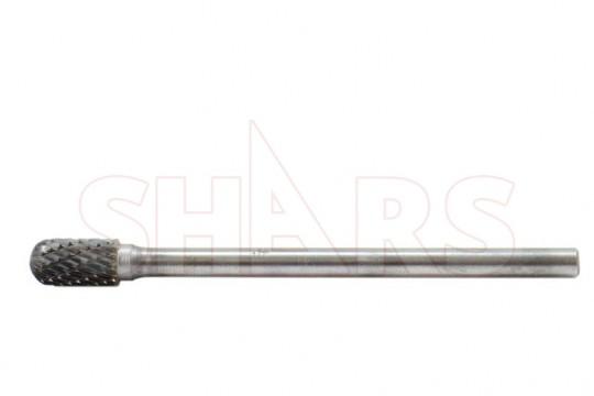 "SHARS 8 Piece 1//4/"" Shank Double Cut Carbide Burr Set NEW P{"