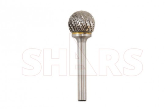 "SHARS 3//8/"" Ball Shape Carbide Burr SD-3 NEW"