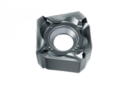 Mitsubishi Materials SNGU140812ANFR-L TF15 Carbide Milling Insert Pack of 10 Class M 0.047 Corner Radius Uncoated 0.331 Thick Square Sharp Honing