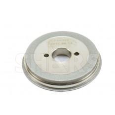 "80mm D x 10mm T x 3/4"" Arbor Hole CBN Step Grinding Wheel"