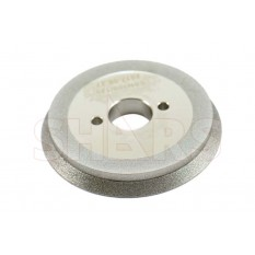 "80mm D x 10mm T x 3/4"" Arbor Hole CBN Grinding Wheel"