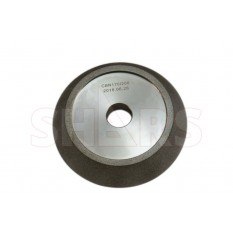 108.5mm D x 20.5mm T x 20mm Arbor Hole CBN Step Grinding Wheel