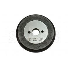 104.3mm D x 12.3mm T x 19.05mm Arbor Hole CBN Step Grinding Wheel