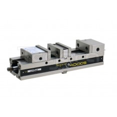 "4"" 400DS CNC Double Station Milling Machine Vise 0.0002"""