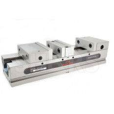 "6"" 600DS CNC Double Station Milling Machine Vise 0.0002"""