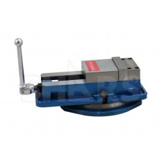 "6x5-1/2x1-3/4"" Lock Down Precision Milling Machine Vise with Swivel Base"
