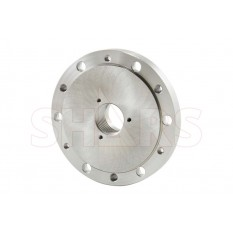 "AP8-B 8"" x 1-1/2-8 TPI Fully Machined Threaded Back Plate for CS FS Series Lathe  Chucks"