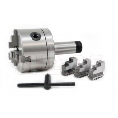 """3"""" 3 Jaw Precision Self Centering Chuck with 5C Arbor"""