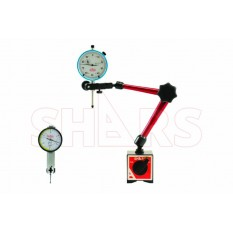 """Magnetic Base W/ .030 & 1"""" Dial Indicator"""