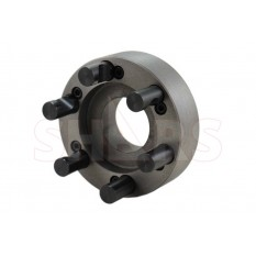 """7.87"""" D1-6 Fully Machined Lathe Chuck Back Plate for 10"""" Independent Chuck"""