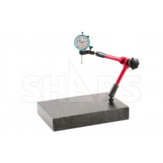"""12 x 8 x 2 Granite Stand With Universal Arm with 1"""" .001"""" Dial Indicator"""