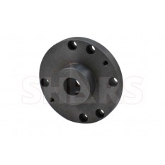 """5"""" Fully Machined Threaded Back Plate with 1"""" x 10 TPI for 3 or 4 Jaw Self Centering Lathe  Chucks"""