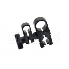 Swivel dovetail clamps 1/4 & 3/8""