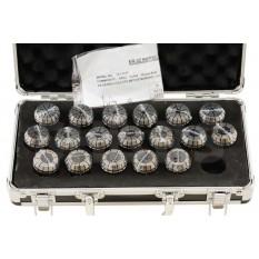3 - 20mm by 1mm ER32 Collet 18 pcs Set