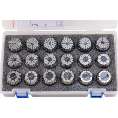 3 - 20mm by 1mm ER32 Collet 18 pcs Set