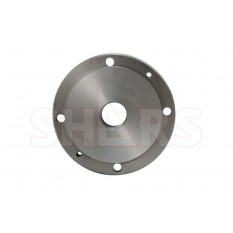 "6.3"" Fully Machined Threaded Back Plate with 1-1/2"" - 8 TPI for 4 Jaw Independent Lathe Chuck"