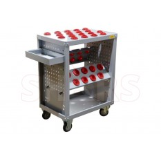 40 Taper CNC TOOL HOLDER STORAGE CART Scooter
