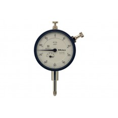 """Mitutoyo 0.5"""" Precision AGD Dial Indicator Lug Back .001"""""""