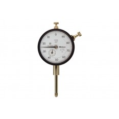 """Mitutoyo 1"""" 100-0 Precision AGD Dial Indicator Lug Back .001"""""""